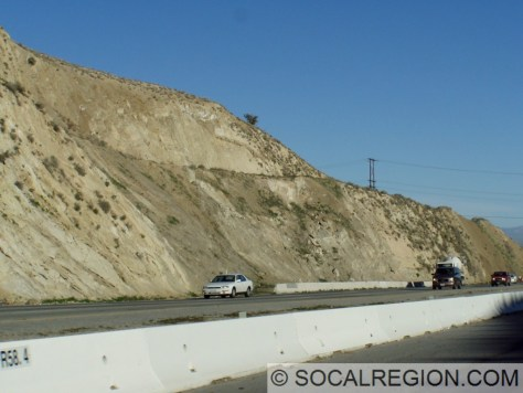 Near the San Andreas Fault crossing at Ave S.