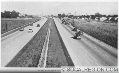 Santa Ana Freeway near Indiana Street in 1948.