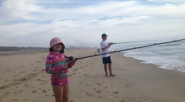 Socalsalty sportfishing adventures from southern for Surf fishing at night
