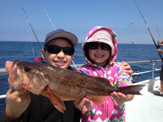 Both of the kids outfitted now with Costas