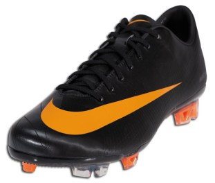 Nike Superfly II Black and Orange