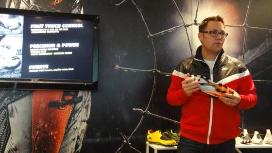 Nike Desinger Doug Wilkens