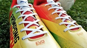 Emmanuel Frimpong Gets Custom Mr. Dheo Boots