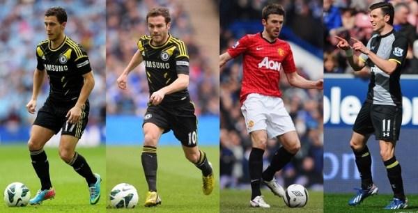 Midfielders PFA