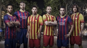 New Barcelona Jerseys for the 2013/14 Season