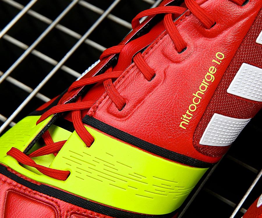 red adidas nitrocharge 1 0 energysling soccer cleats 101. Black Bedroom Furniture Sets. Home Design Ideas