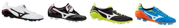 Mizuno Boots in the US