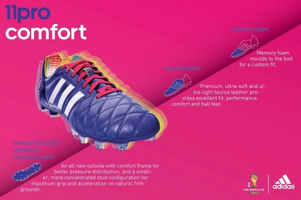 Adidas 11pro Samba Specs