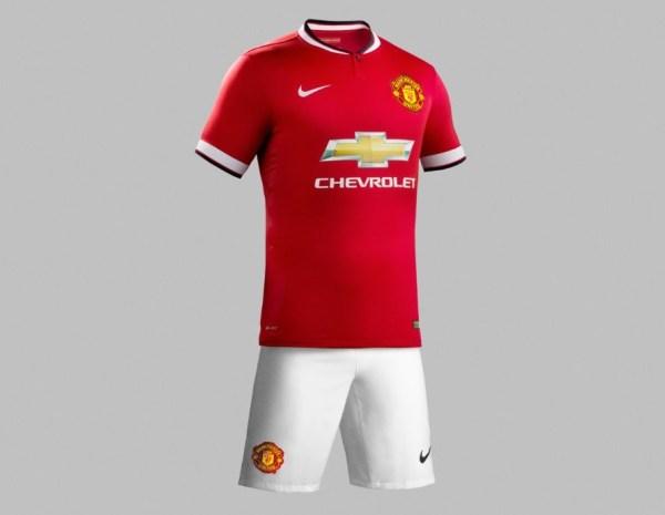 Man United 2015 Kit