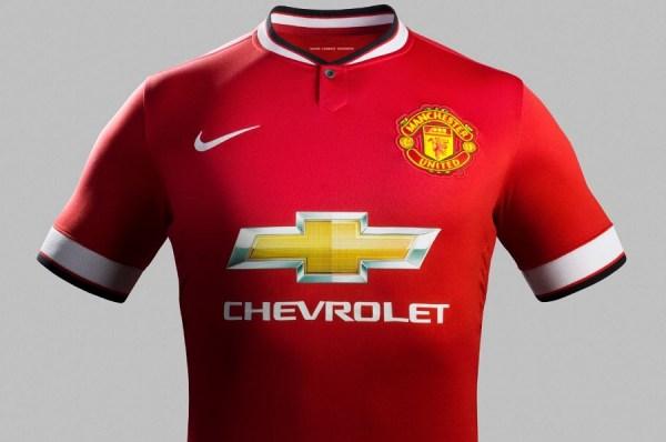 New United Home Kit