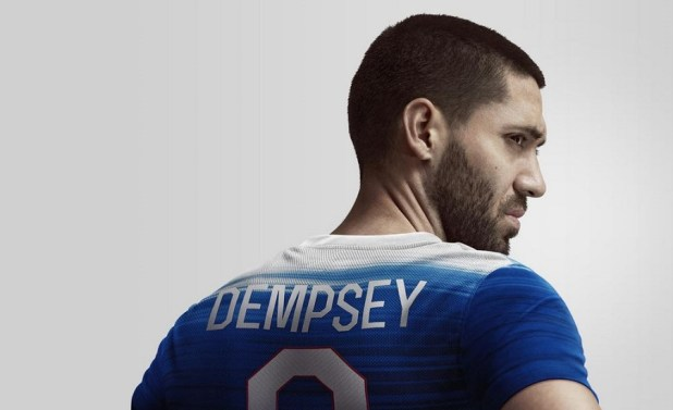 US Away 2015 Dempsey