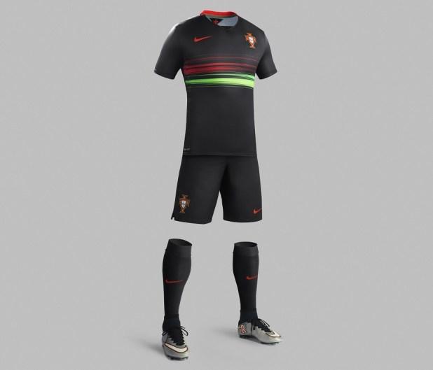 Full Body Portugal Away Kit 2015