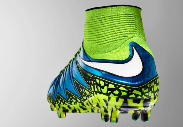 Cool Nike 2016 Hypervenom Phantom II FG Men Soccer Boots Light Blue Green