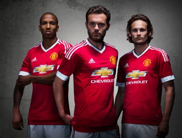 MUFC 2015 Home Kit