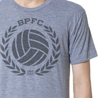 BPFC CREST - ATHLETIC GREY