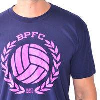 BPFC CREST - NAVY WITH VIVID PINK