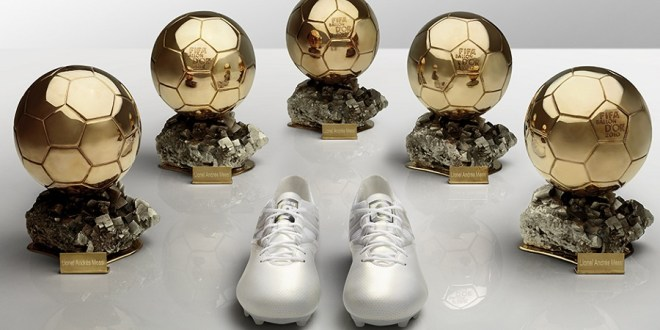 Ballon d'Or Messi 15