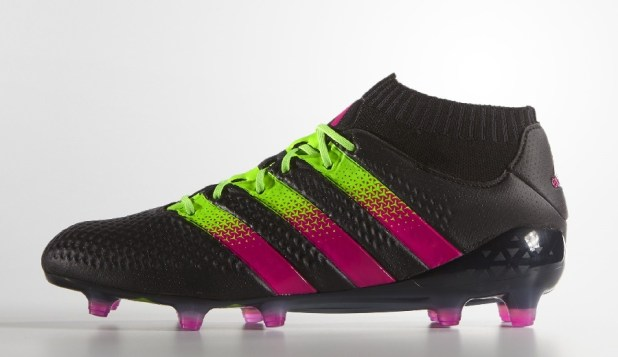 Black Shock Pink Ace16 Primeknit