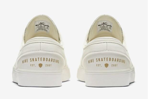 Nike SB Zoom Stefan Janoski Elite Heel Cut