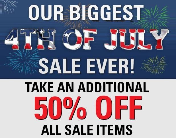 WeGotSoccer 4th of July Sale