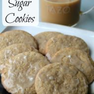 Warmth for Rainy Days – Chai Sugar Cookies