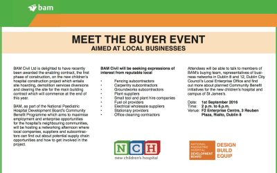 Meet the Buyer event for New Children's Hospital Announced