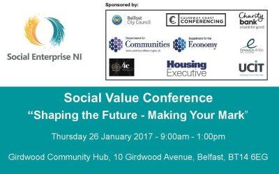Social Enterprise NI Conference 26th January 2017