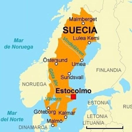 Resultado de imagen de Mapa de Suecia