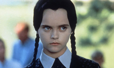 Christina Ricci as Wednesday Addams in Addams Family Values. Photograph: THE RONALD GRANT ARCHIVE