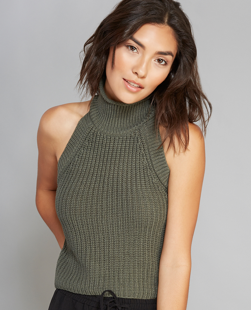 Wetseal High Neck Sweater