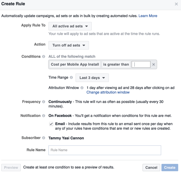 Use the Automated Rules feature to set up actions or notifications when certain conditions are met.