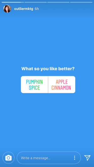 @outliermktg invites debate over favorite fall flavors.