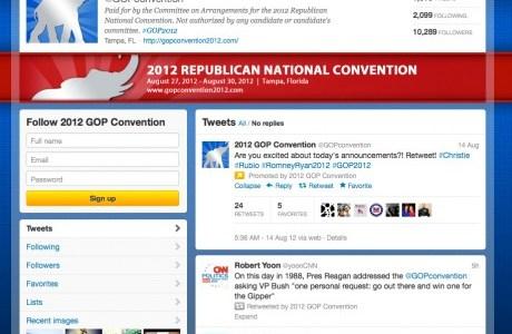 Partito Repubblicano Americano - Presidenziali Social