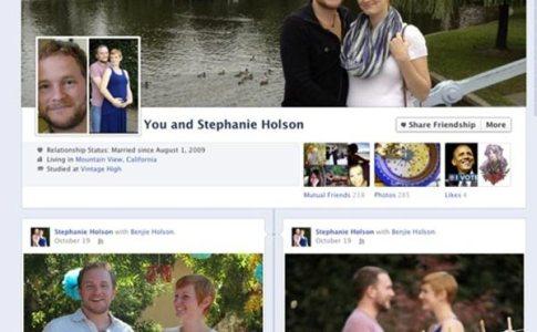 Diario Timeline di coppia su Facebook