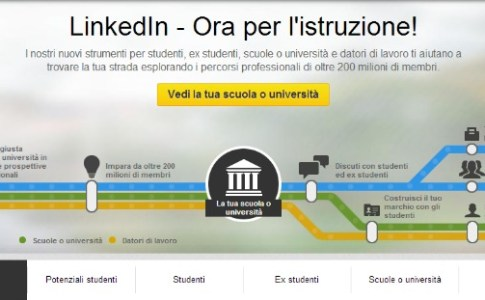 Linkedin per le Università