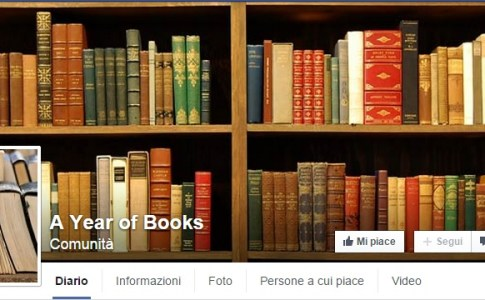 A Year of Books - Pagina Facebook
