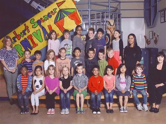 Retaken Class Picture of Miles Ambridge Class Picture Singles Out Student With a Disability