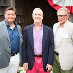 Mayor Mark Epley, Doug Halsey, Tom Edmonds