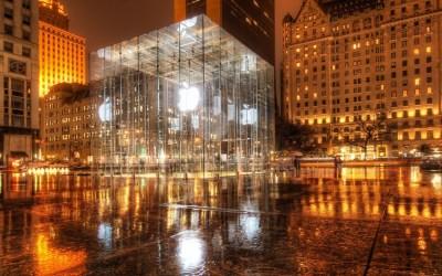 Apple Store- New York City - Desktop Wallpaper