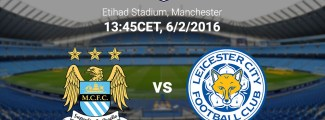 leicester city vs man. city