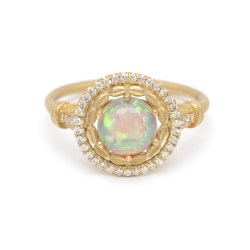 Small Crop Of Opal Engagement Rings