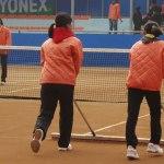 会場点描 コート整備 世界ソフトテニス選手権レポート