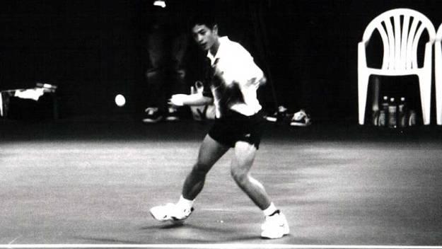 やはり1999世界選手権での劉家綸。大会の中心といっていい大活躍だった。当時 名門豊原高商在学中。