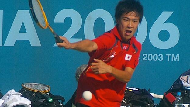 2006アジア競技大会(ドーハ)団体戦より。