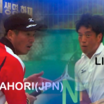 NongHyup 2009 INTERNATINAL Soft-Tennis TOURNAMENT Mens Singles NAKAHORI(JPN) vs. LIM(KOR)