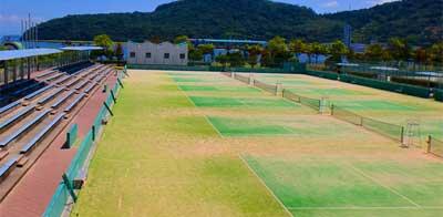 香川県総合運動公園 砂入り人工芝20面