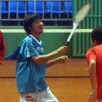 日本選手練習風景