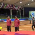 2011世界選手権男子ダブルスメダルセレモニー