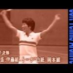 二十八年前・・・・1987全日本インドアニュース映像 ソフトテニスアーカイブ