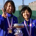 森田・山下(ヨネックス)が感動の初優勝 2015皇后杯